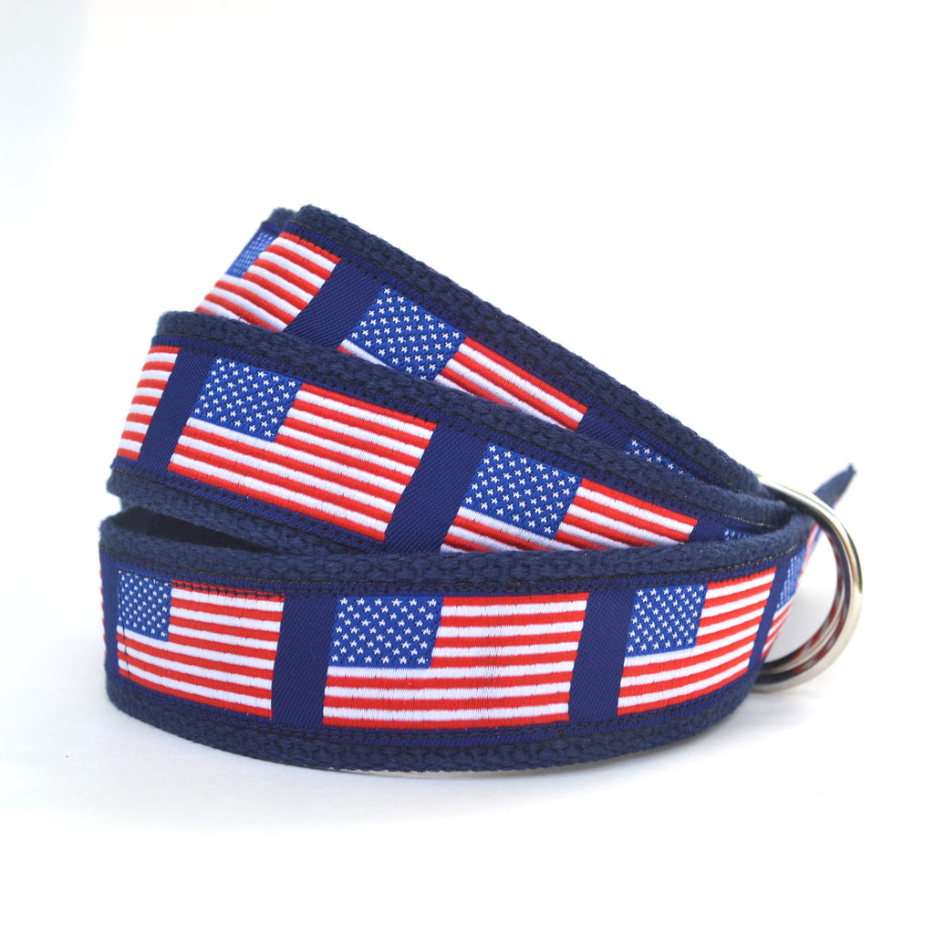 Adult American Flag Belt