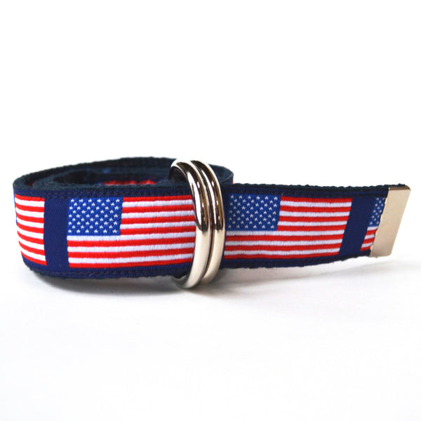 Child American Flag Belt