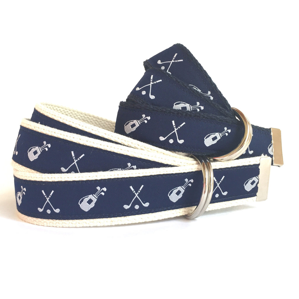 Father Son Golf Belt Set