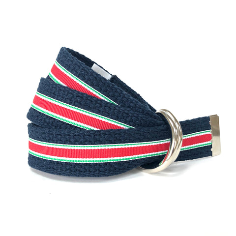 Child Christmas Red/White/Green Belt