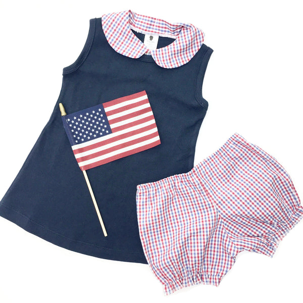 4th of July Baby Girl Dress