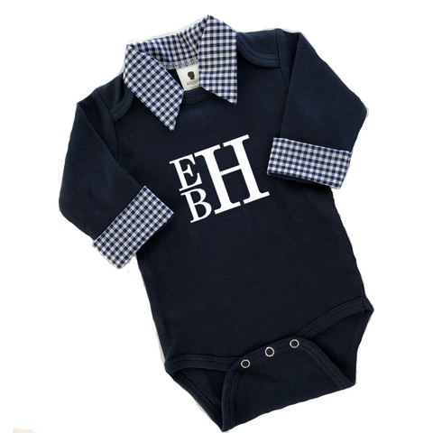 Boys Monogram Shirt