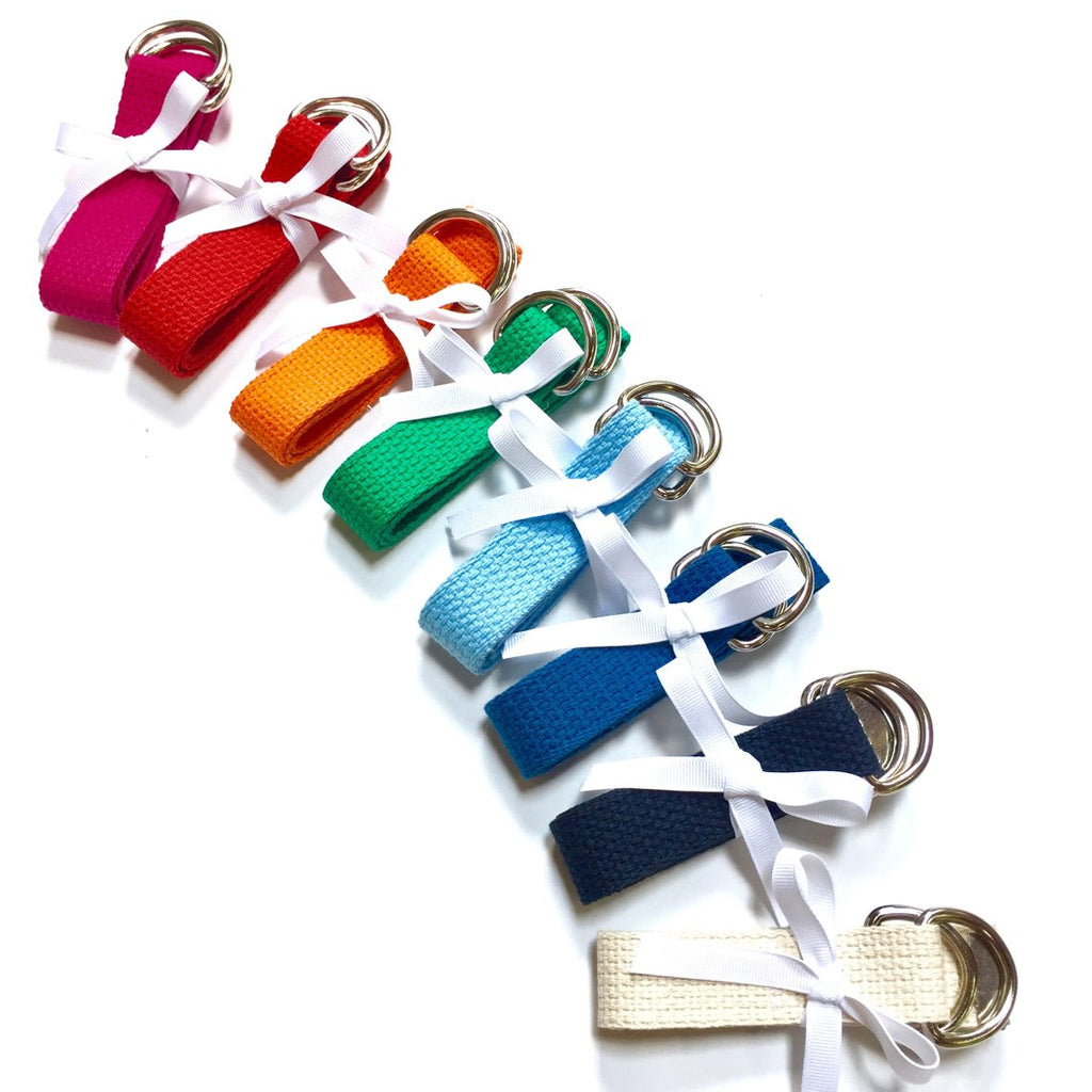 Child Solid Color Canvas Belt