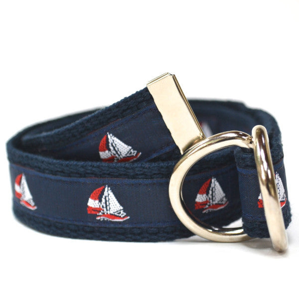 Child Nautical Sailboat Belt