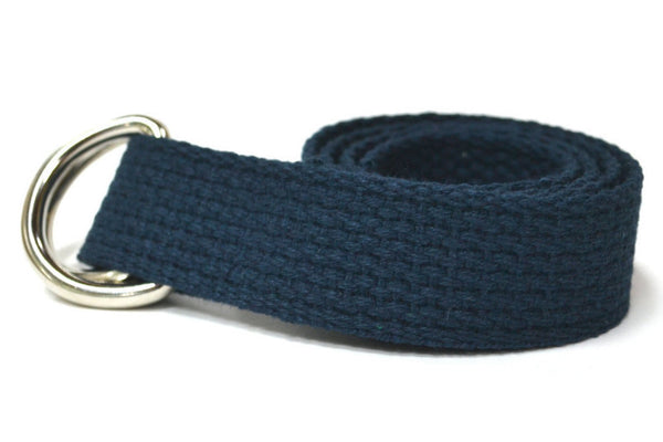 Child Navy Canvas Belt