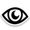 blackcloth eye moon logo