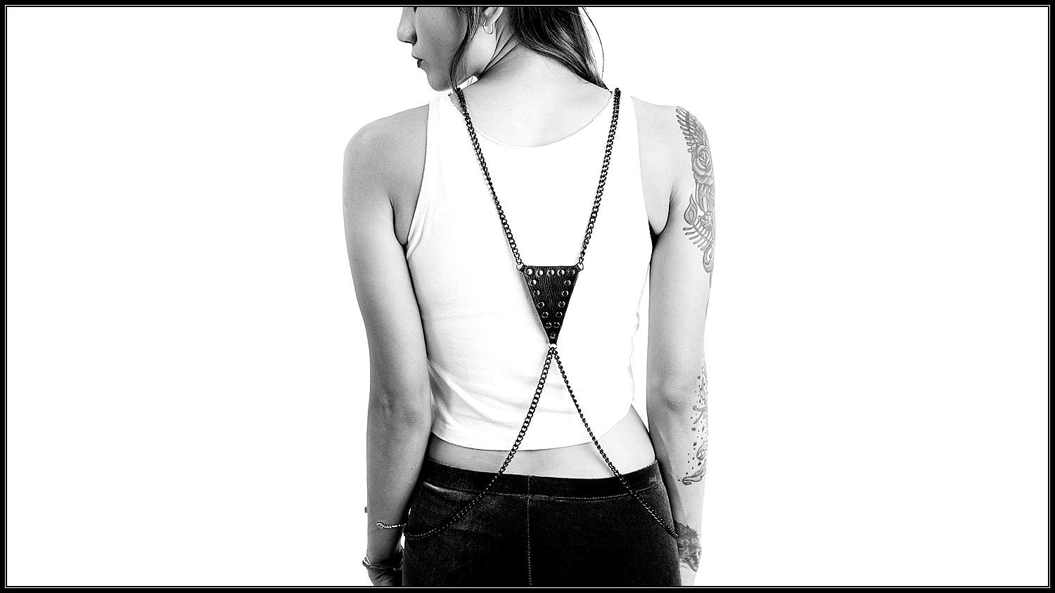 body chain outfit - shop body chains - BLACKCLOTH