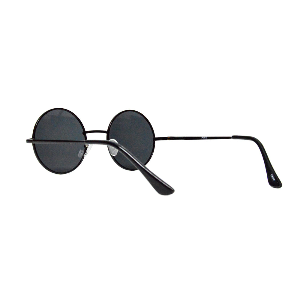 Round Circle Metal Frame Sunglasses