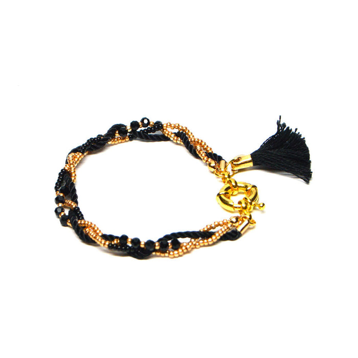 Ace Commune Macon Layered Tassle Bracelet