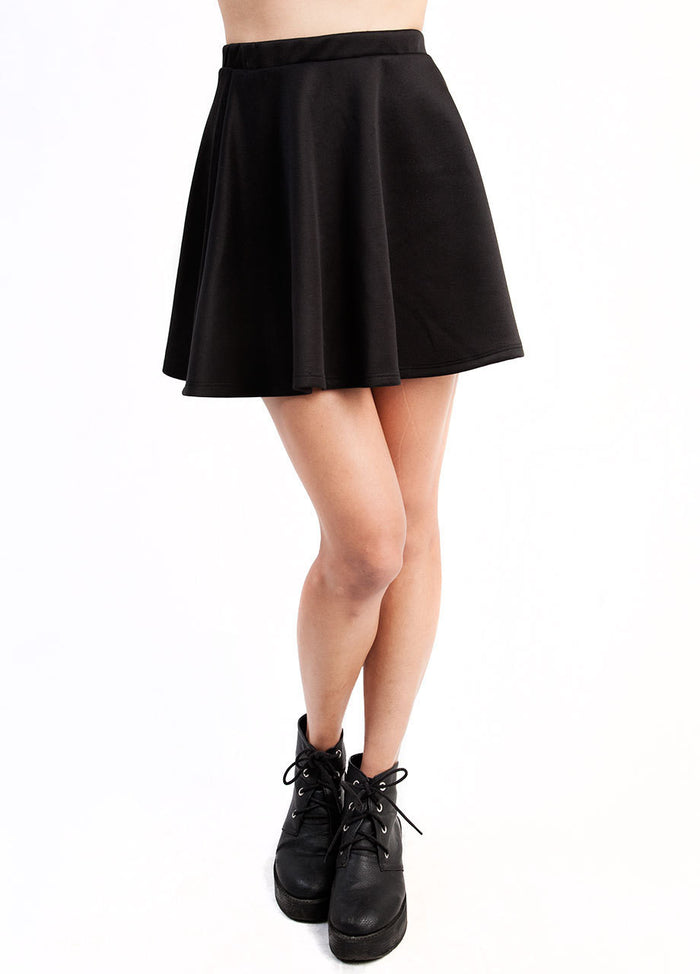 Not So Basic Skater Skirt
