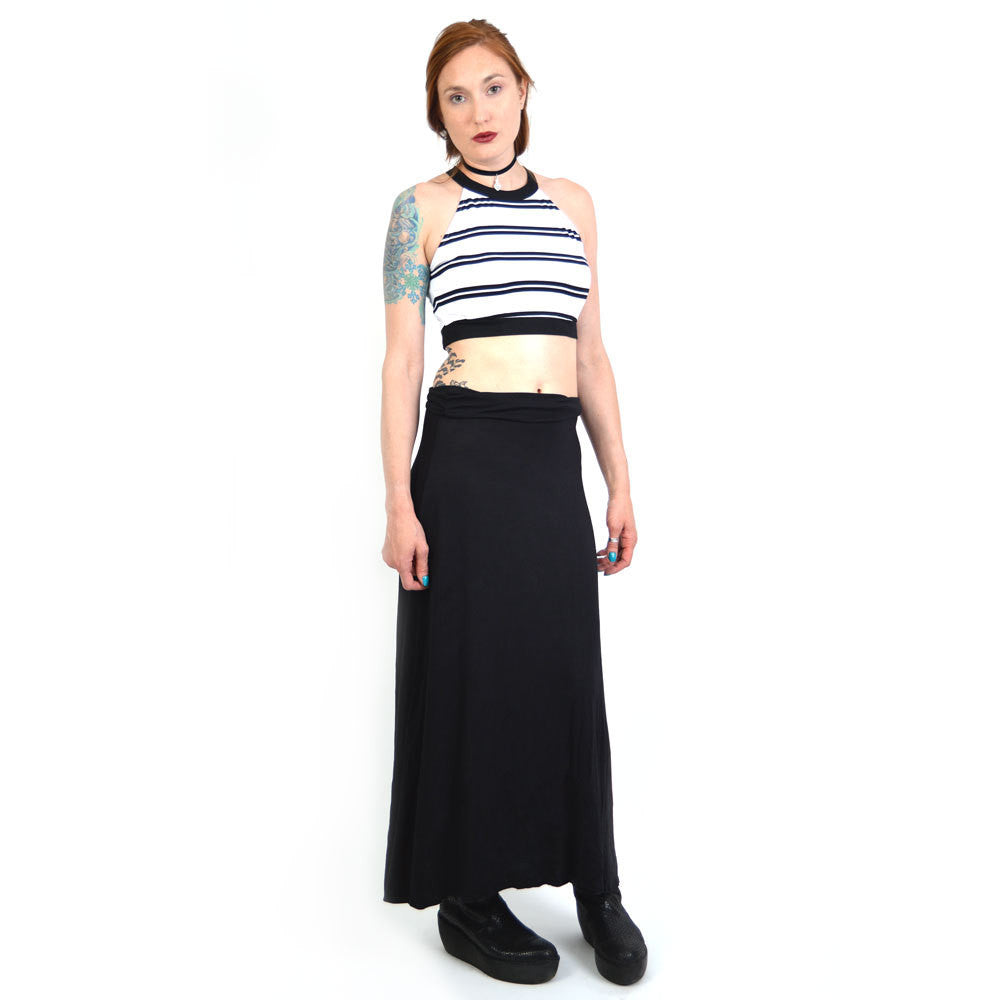 Evil Twin Push And Shove Crop Top
