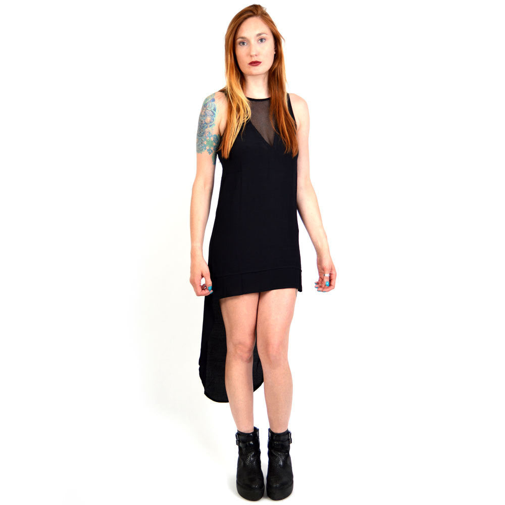 Evil Twin Tipping Point Mesh Cutout Dress