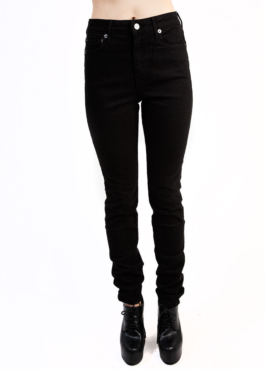 Kill City Too High Wasted Overdyed Stretch Twill Jeans