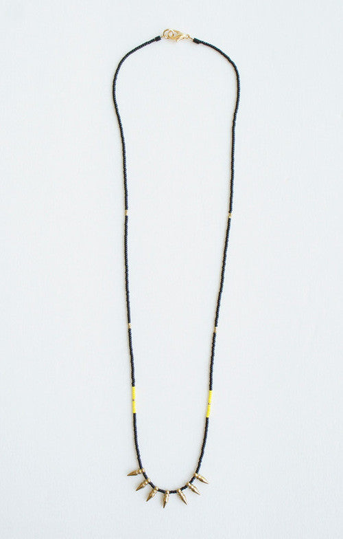 Ace Commune Brooklyn Spikes Necklace