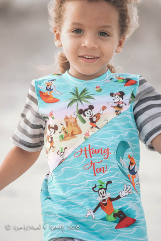 Hang Ten Mickey Custom Fabric Preorder