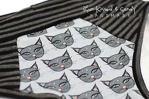 Grey Bitty Mystic Kitty Undies Ready To Ship