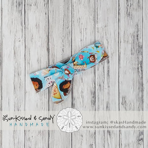 Moana Way-Finder Tie Top Headband Ready To Ship