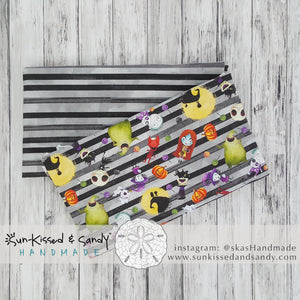 Nightmare Before Christmas Watercolor Headband Ready To Ship