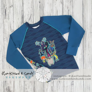 Hotel Transylvania Piped Raglan Ready To Ship