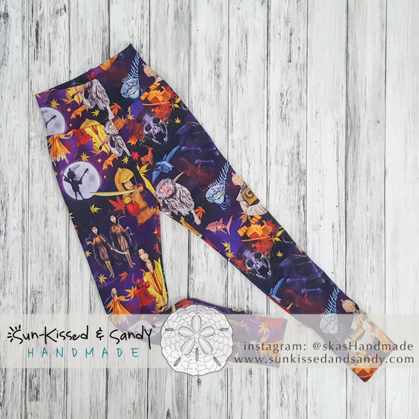 Kubo And The Two Strings Comfort Leggings Ready To Ship