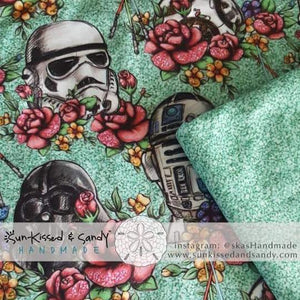Floral Star Wars Cardigan Reserved Listing