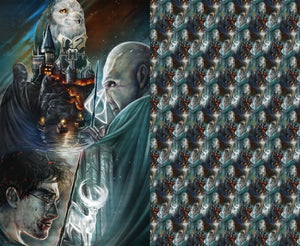 Dueling Wands Mega Adult Minky Panel Blanket Reserved Listing