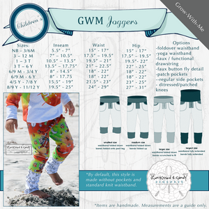 Rose Wilderness Grow-With-Me Joggers