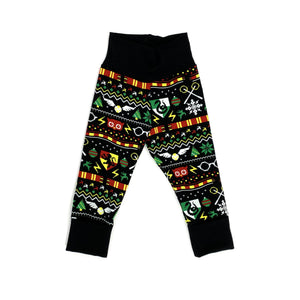 Harry Potter Ugly Christmas Grow With Me Joggers Ready To Ship