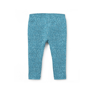 Ice Blue Sparkle Leggings (Baby + Youth) Performance