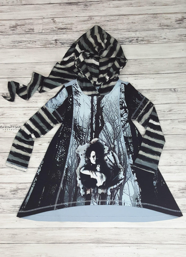 I Am Not Complete Fairy Hooded Hi-Low Tunic Reserved Listing