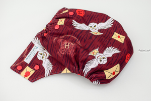Os Hogwarts Acceptance Ai2 Diaper - (Made To Order Custom) Reserved Listing