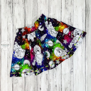 Unicorns In Space Skate Skirt Reserved Listing