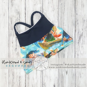 Board My Boat Swim Crop Top / Bikini Semi-Custom Mto