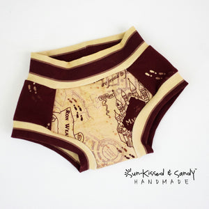 18-24 M Marauders Map Training Undies - Rts Ready To Ship
