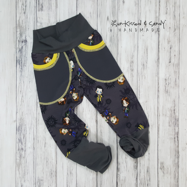 Charcoal Spn Grow With Me Joggers - (Made To Order Custom) Reserved Listing
