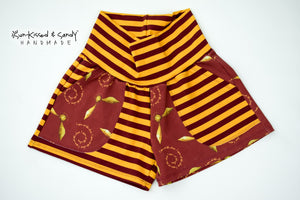 I Open At The Close / Stripes Pocket Shorties Ready To Ship