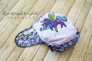 My Little Goth Pony Os Ai2 Plus - Rts Diapers & Trainers