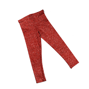 Red Sparkle Leggings (Baby + Youth) Performance
