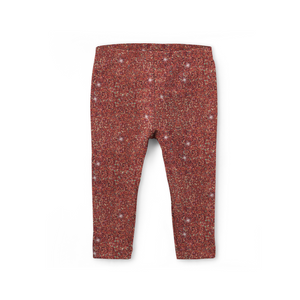 Rust Sparkle Leggings (Baby + Youth) Performance