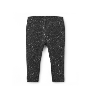 Black Sparkle Leggings (Baby + Youth) Performance