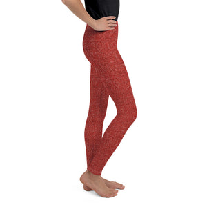 Red Sparkle Leggings (Baby + Youth)