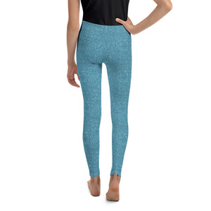 Ice Blue Sparkle Leggings (BABY + YOUTH)