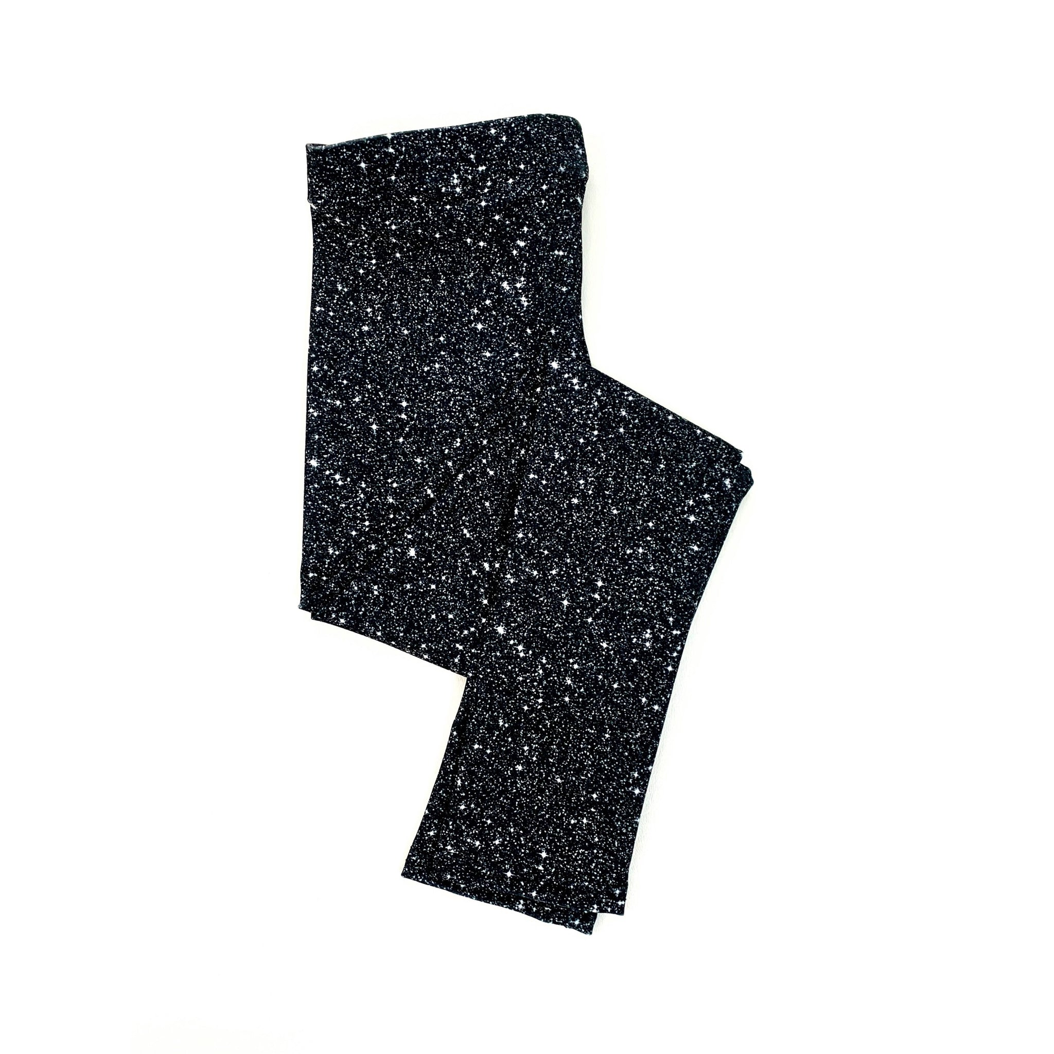 8b8e0782de2781 Black Sparkle Leggings (BABY + YOUTH) - Sun-Kissed & Sandy