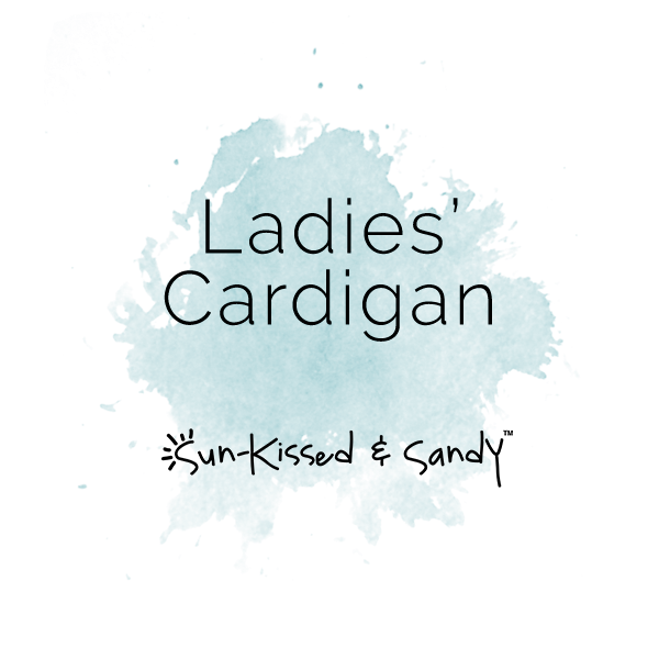 Ladies Cardigan Styles & Size Charts
