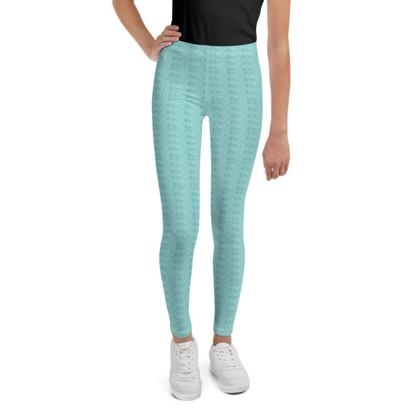 Mint Sparkle Leggings (Baby + Youth)