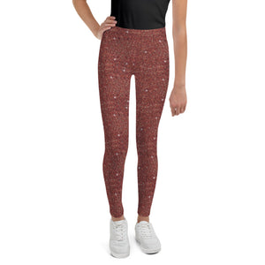 Rust Sparkle Leggings (BABY + YOUTH)