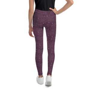 Sugar Plum Sparkle Leggings (BABY + YOUTH)