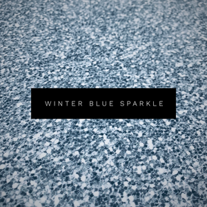 Winter Blue Sparkle Leggings (Baby + Youth)