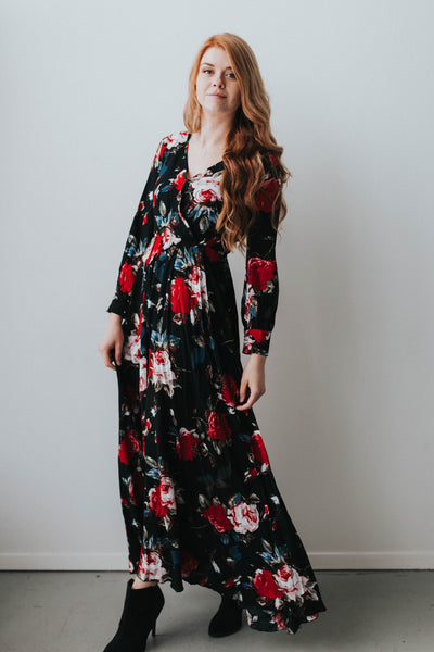 Fabulous in Floral Dress