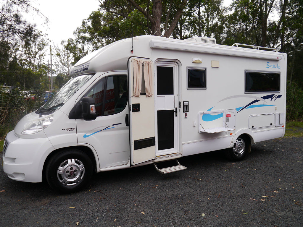 2008 winnebago birdsville fiat ducato motorhome camper. Black Bedroom Furniture Sets. Home Design Ideas